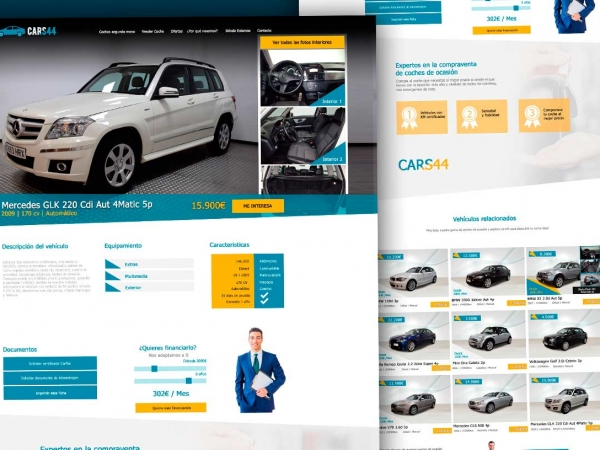 Web para Concesionarios VO