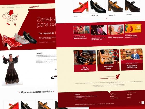 Zapatos de Ferias y bailes