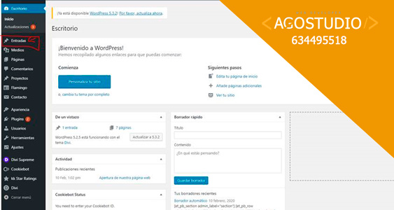 ir al blog de wordpress