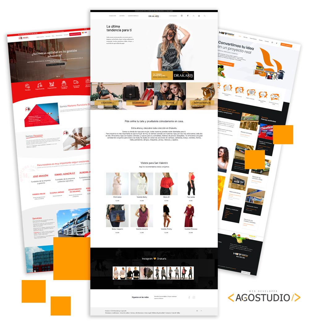 Diseño página web Málaga