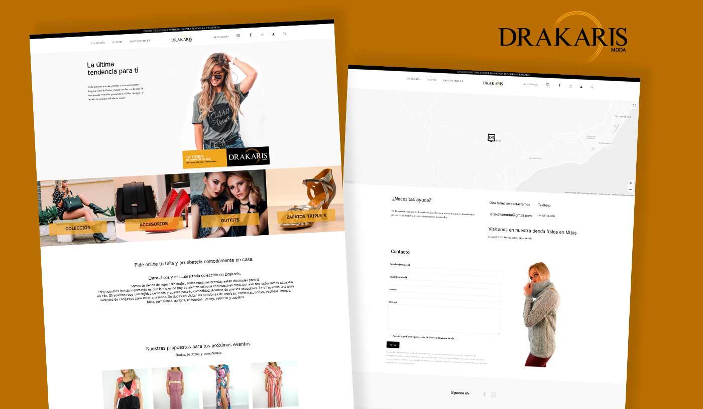 Tienda Online Ropa Málaga - Diseño wordpress - Agostudio