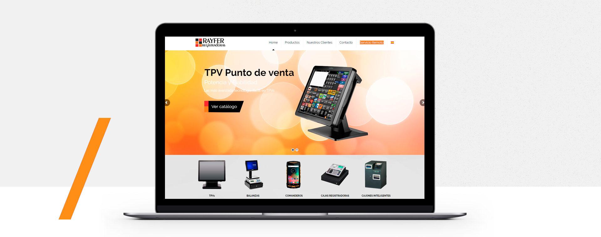 Diseño web Fuengirola Rayfer