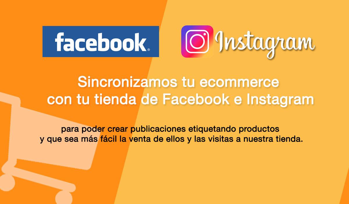 Configuramos tienda con facebook e instagram - programadores web en malaga